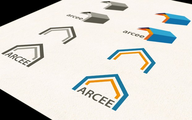 Logovarianten ARCEE