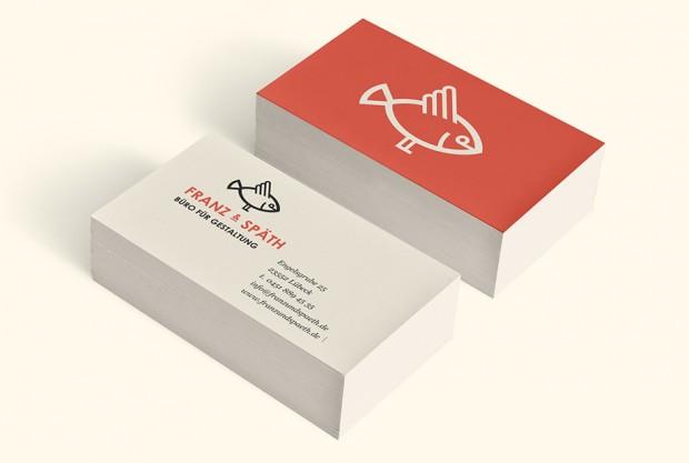 Visitenkarten Franz und Späth – Büro für Gestaltung