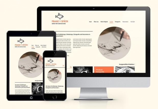 Webdesign Franz und Späth – Büro für Gestaltung