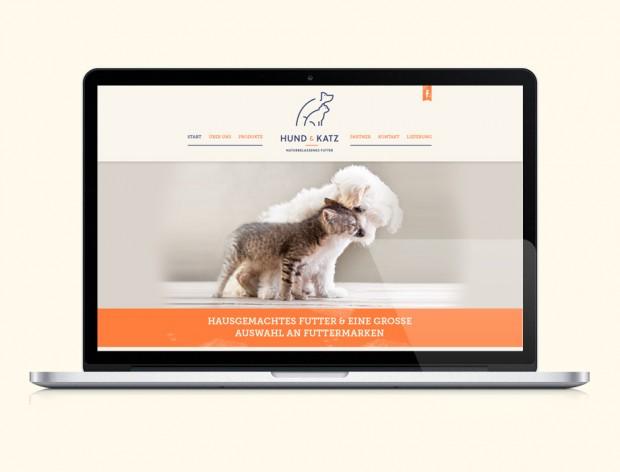Webseite, Hund & Katz, Lübeck