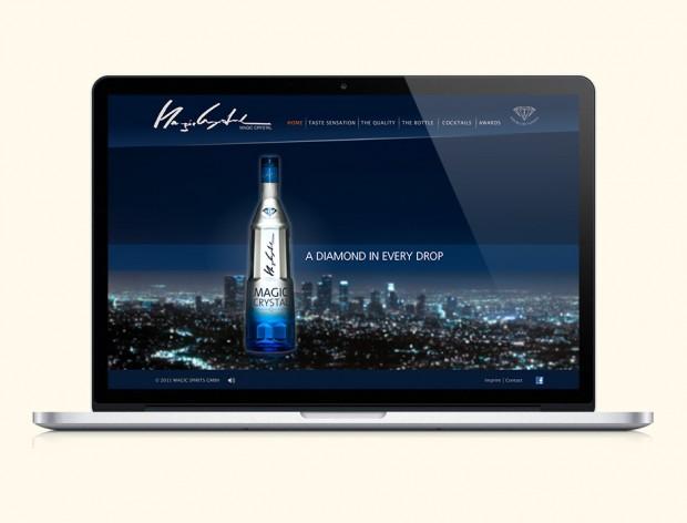 Webseite für Magic Spirits GmbH