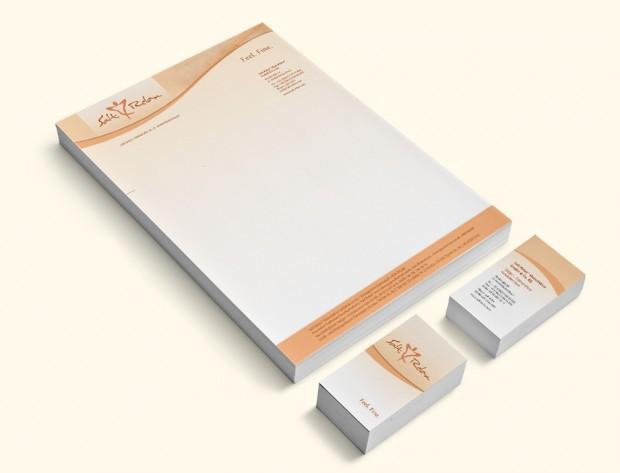 Visitenkarten und Briefpapier Salt Relax Manufaktur