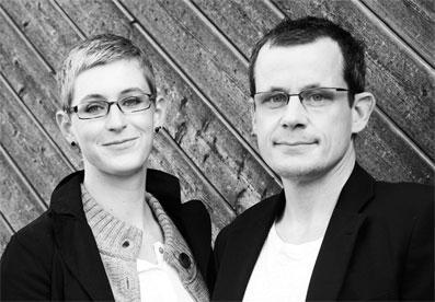 Diplom Designer Tobias Franz und Hanna Späth