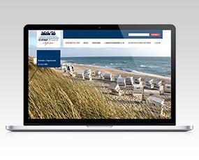 Webseite des Wirtschaftsgipfel CRM