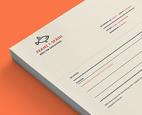 Corporate Design Franz und Späth – Büro für Gestaltung